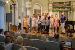 Uczestnicy koncertu w Busko-Zdroju